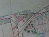 Plan cadastral avec seulement l\'auberge, 1900. Il n\'y a plus Vandenbrouck