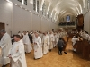 Procession d'entrée : les prêtres diocésains