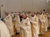 Procession d'entrée : les abbés