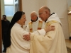 Baiser de paix à l'abbesse de la Fille-Dieu