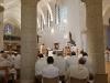 Durant la liturgie eucharistique