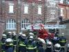 Avec tous les pompiers en fin de formation
