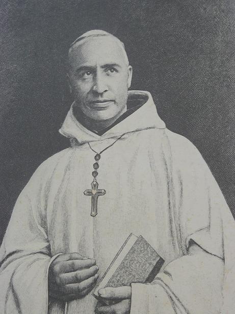 Dom Bernard Richebe, abbé du Mont des Cats