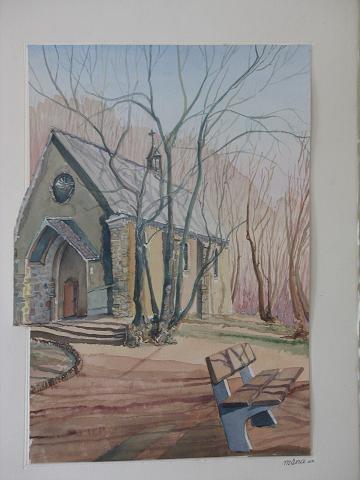 Chapelle de la Passion, dessin moderne