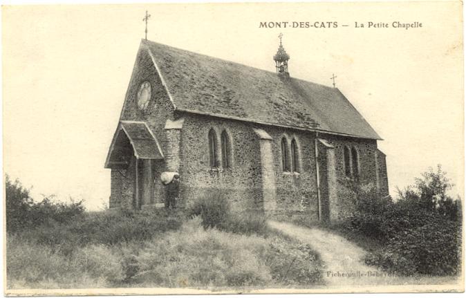 Chapelle de la Passion après agrandissement, vers 1890