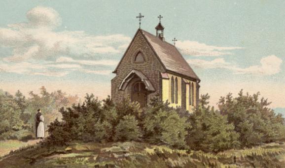 Chapelle de la Passion, Dessin de 1898
