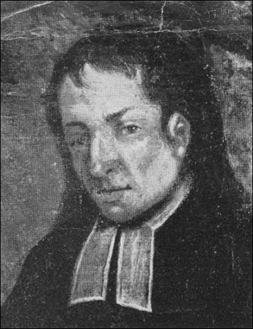 Charles Grimminck copie d'un tableau du prêtre
