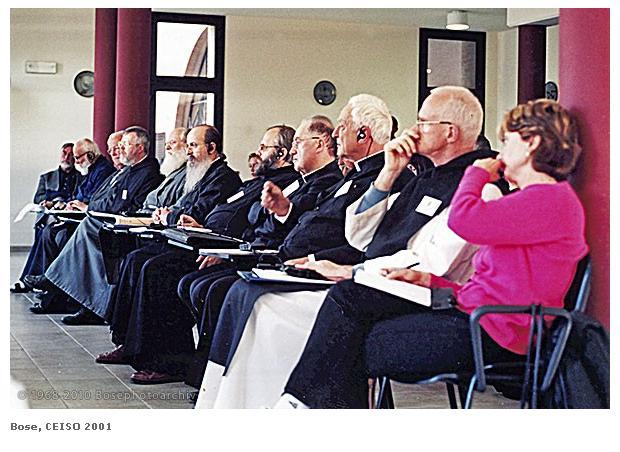Colloque à Bose en 2001 sur la spiritualité orthodoxe