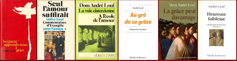 Dom Andre Louf ecrivain