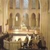 Eglise restaurée et concélébration, 1981