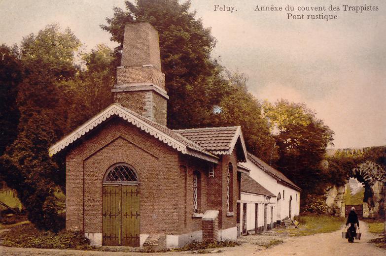 Le refuge de Feluy : les bâtiments de la fromagerie et des ateliers