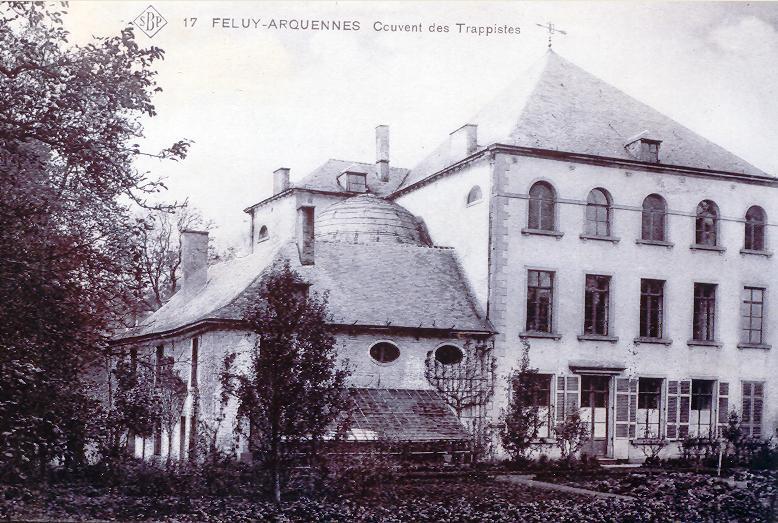 Le refuge de Feluy : le bâtiment principal