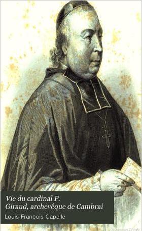 Cardinal Giraud, archevêque de Cambrai