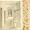 Moine dans le cloitre-couloir du premier bâtiment