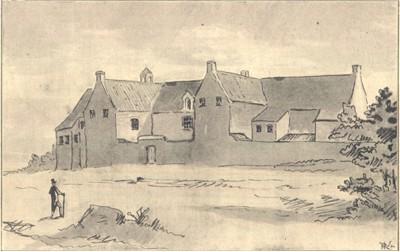 Couvent des Antonins, d'après un dessin de Nicolas Ruyssen