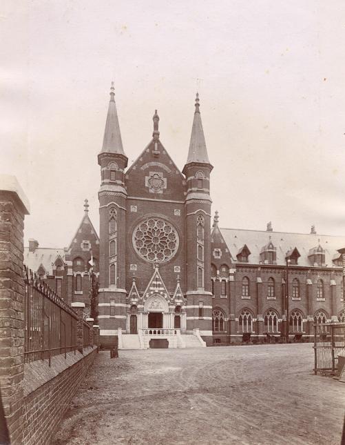 Abbaye du Mont des Cats, façade de 1898