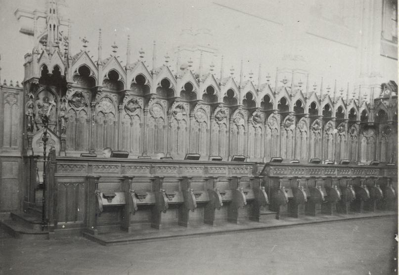 Mont des Cats, les stalles de 1898