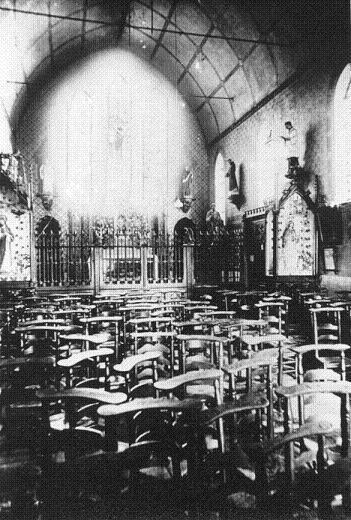 Intérieur de l'Eglise Saint Constance 1870