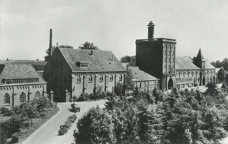 Tilburg les bâtiments de la Brasserie