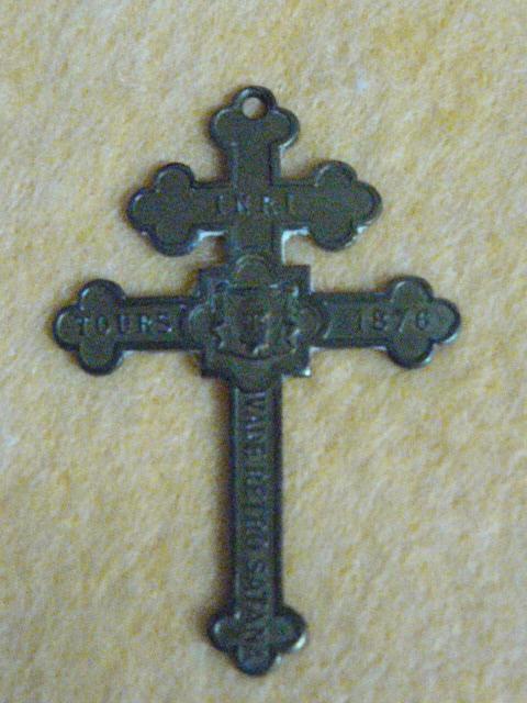 Croix ayant appartenu au Capitaine Wyart