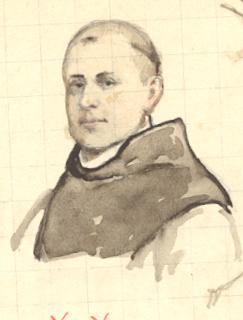 Père Sébastien Wyart, moine