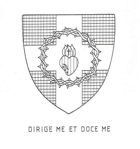 Dom Jérôme Parent, Blason abbatial