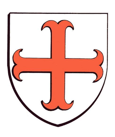 Blason abbatial Dom Guillaume