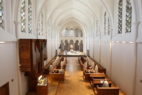 Eglise abbatiale restaurée, 2005