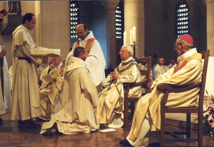 Ordination sacerdotale de Dom Guillaume