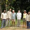 Visite de Dom Guillaume à la préfondation des Seychelles