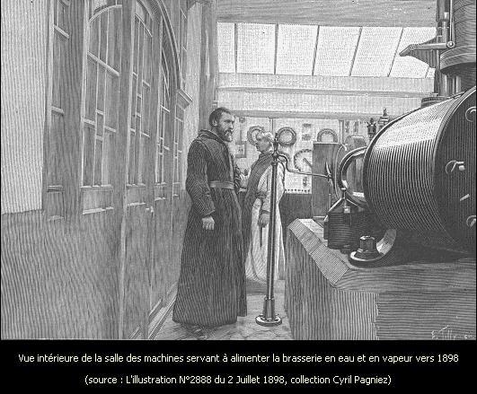 1895 production de vapeur comme énergie et comme chauffage