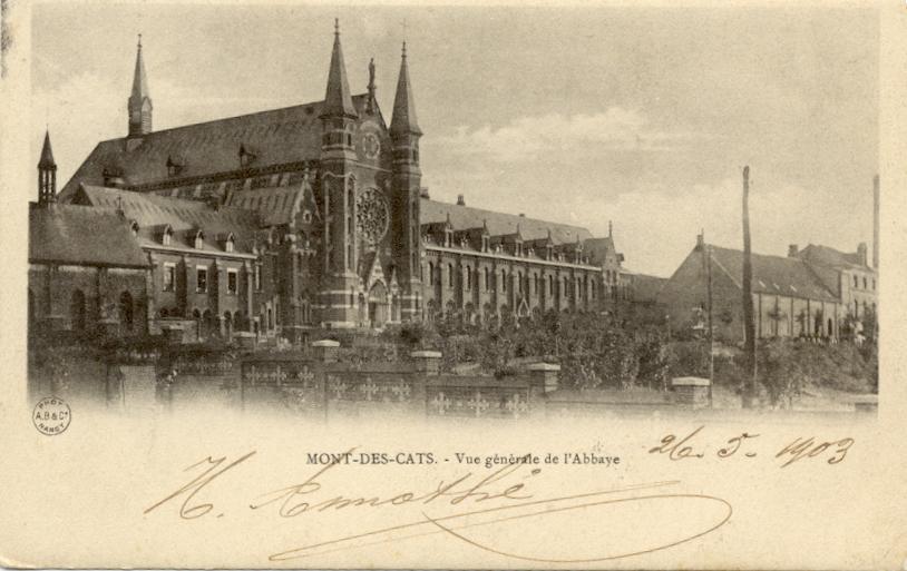 1896 les bâtiments de la nouvelle brasserie sont bien visibles