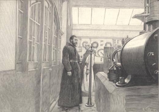 1898 production de vapeur comme énergie et comme chauffage