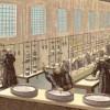 1898 travail dans la fromagerie, dessin