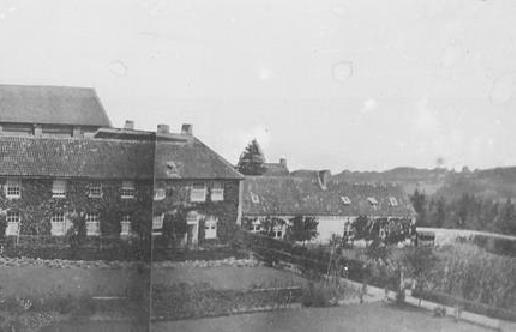 Le nouveau bâtiment de l'hôtellerie, après 1847
