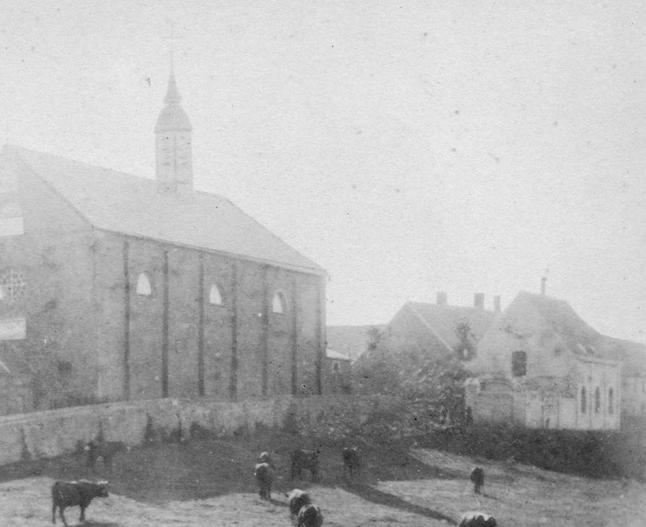 Les premiers ateliers en dur, vers 1870