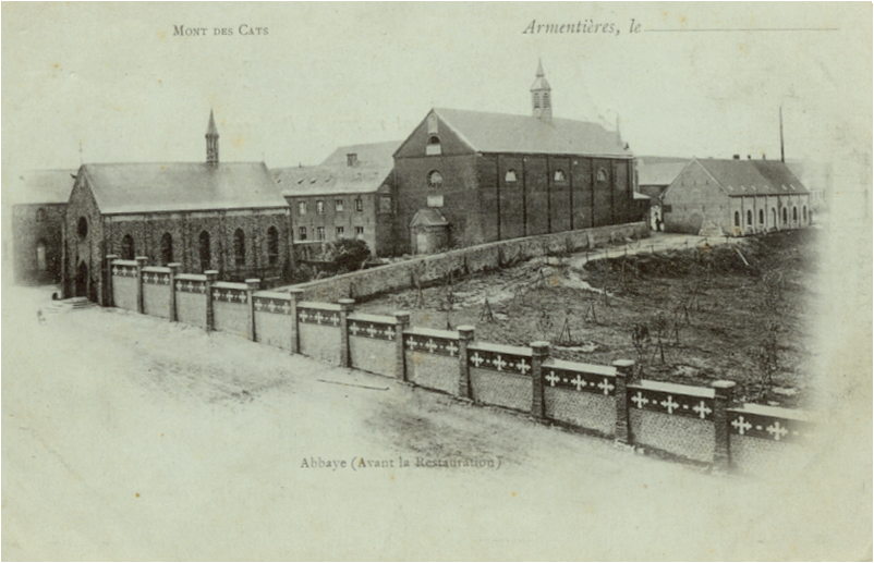 Vers 1850, le deuxième monastère