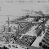 1896 projet de l'architecte Paul Destombes, avec le nouveau portail