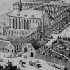 Détail du projet de 1896 : le nouveau portail