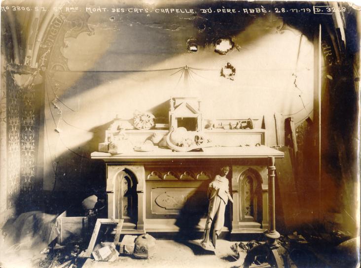 La chapelle privée du Père Abbé