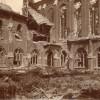 L'aile abbatiale : les bureaux du rez-de-chaussée et les dégâts de l'étage