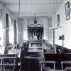 1918 : chapelle provisoire dans le réfectoire de l'hôtellerie