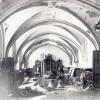 La salle du chapitre en 1919 avant sa restauration
