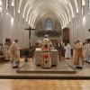 Durant l'eucharistie